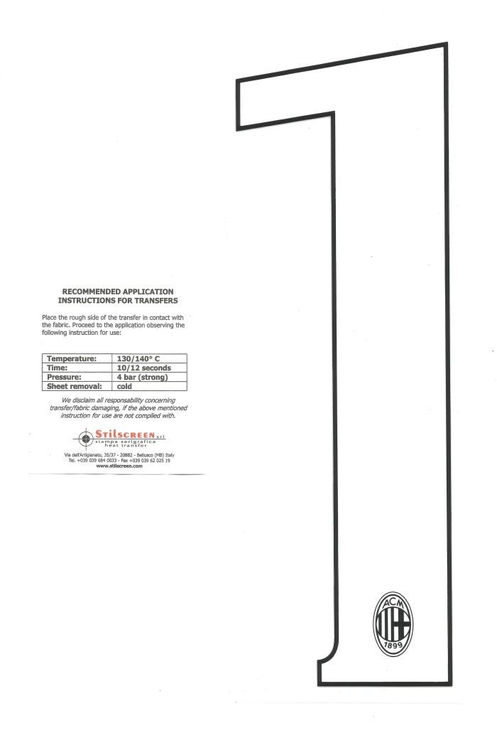 harga Ac milan custom number/white 2014-16 home & 3rd. for original jersey Tokopedia.com