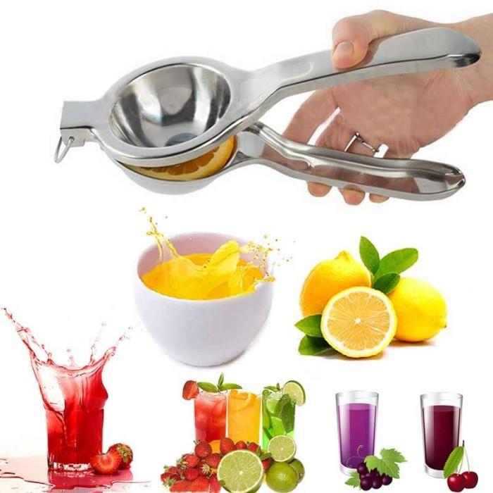 harga Stainless steel lemon juicer fruits squeezer alat pemeras jeruk lemon Tokopedia.com