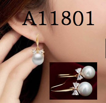 harga Anting pita kristal mutiara, a42 (kalung cincin gelang berlian) Tokopedia.com