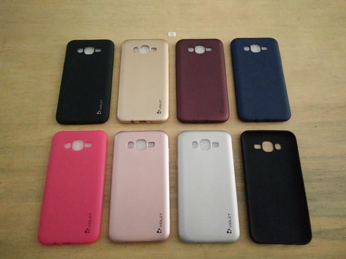 Foto Produk Soft Case Violet - Samsung Galaxy J7 Core / J7 Nxt (J701) dari Golden Rabbit Acc