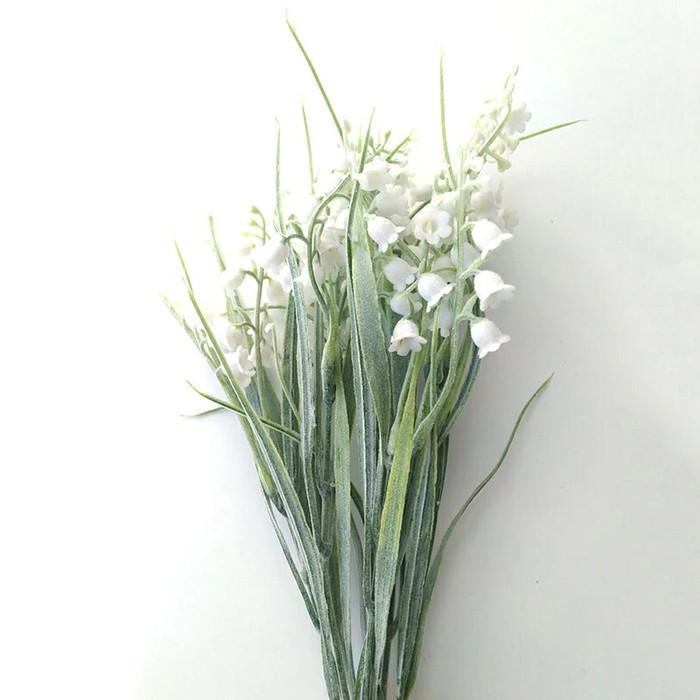 harga Bunga lily of the valley snowy artificial premium import - putih Tokopedia.com