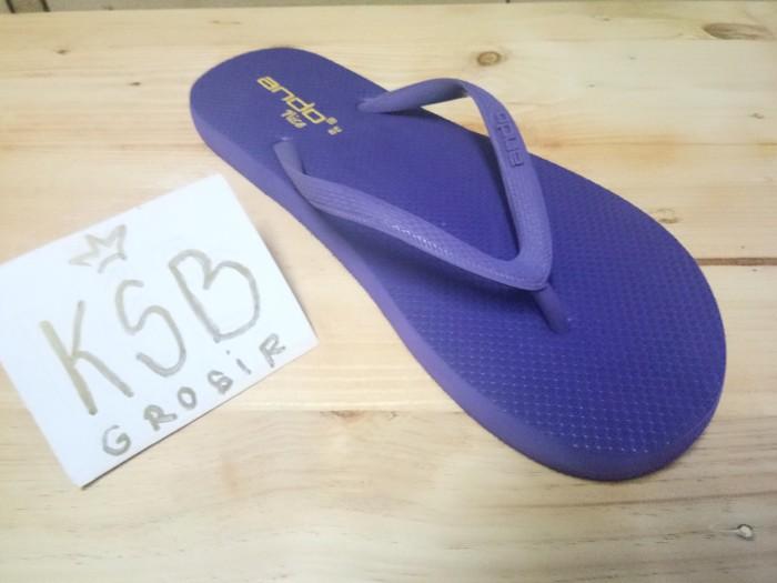harga Sandal ando nice/sandal flat/sandal jepit wanita/sandal karet Tokopedia.com