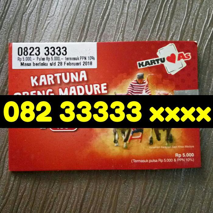 harga Perdana telkomsel kartu as madura tarif baru kuartet 33333 antik Tokopedia.com