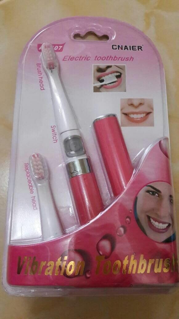 Foto Produk Sikat Gigi Kecantikan Cnaier ToothBrush Sikat Gigi Listrik Elektrik dari irma1505