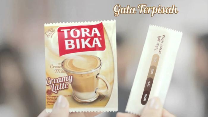 Foto Produk Torabika Creamy Latte - Manisnya bisa diatur dari 3F Retail