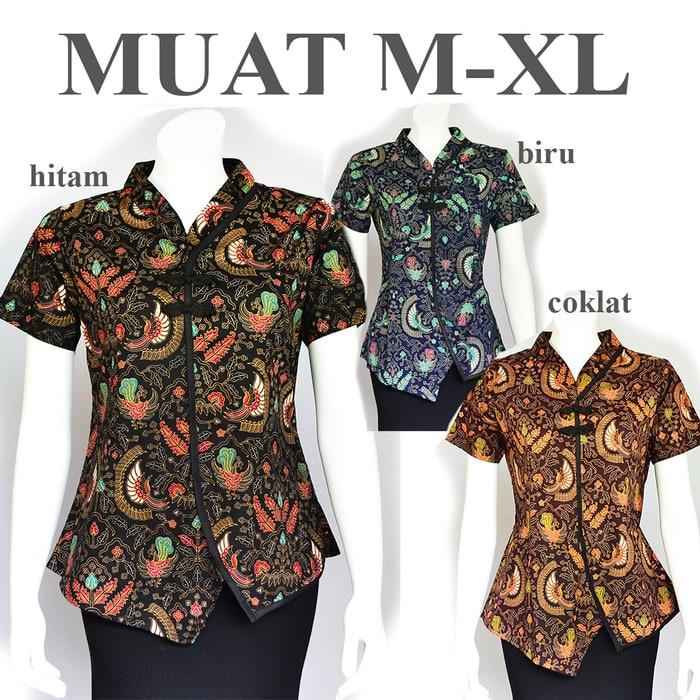 harga Atasan batik cheongsam blouse a513 Tokopedia.com