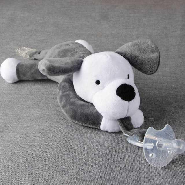 Jual Dot Empeng Bayi Model Boneka Baby Silicon Pacifier Dot - Anjing ... 7c81a6606a