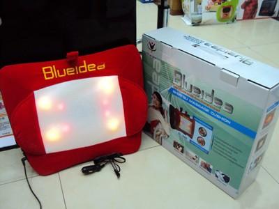 harga Shiatsu massage cushion blue idea bantal pijat di rumah di mobil Tokopedia.com