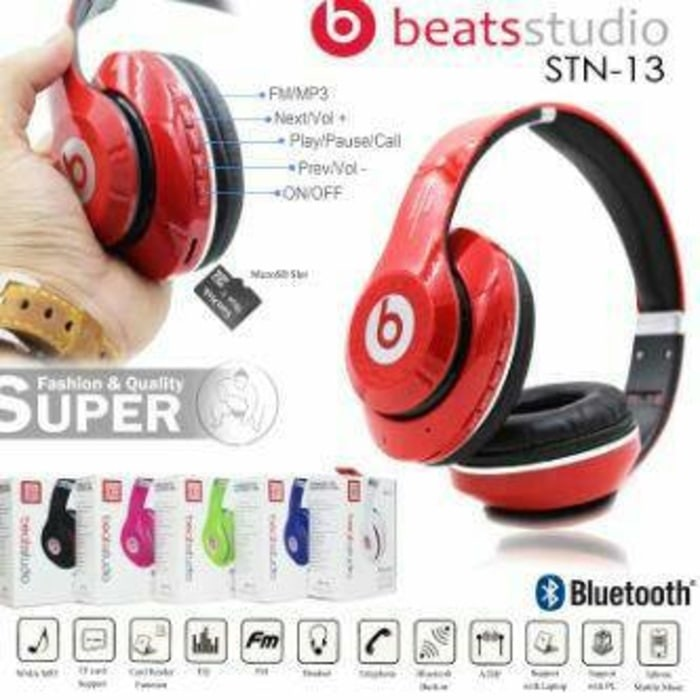 harga Headset beats studio headphone beat wireless bluetooth oem with bass Tokopedia.com