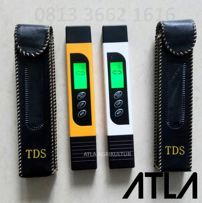 harga Ec Dan Tds Ppm Meter + Backlight + Temperatur Air Hidroponik Eu007 Tokopedia.com