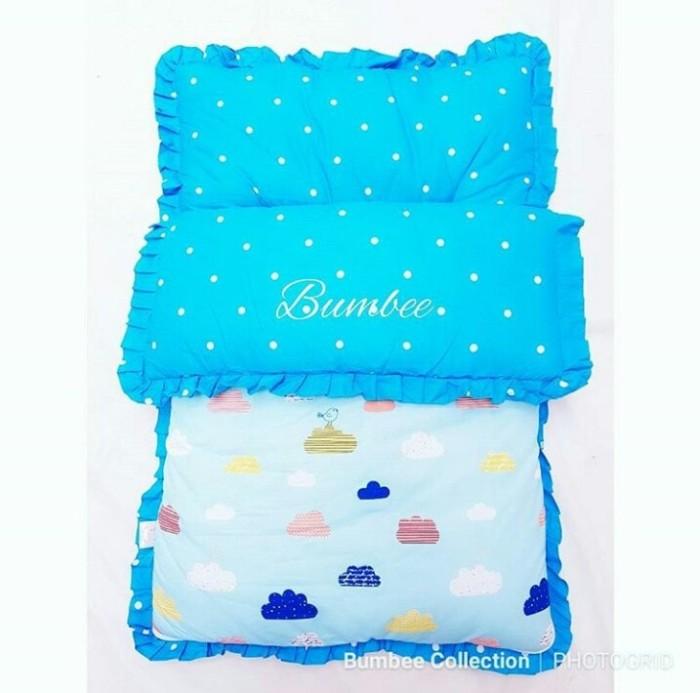 Sleeping bag bayi / awan biru