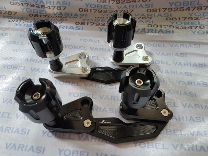 harga Frame slider penahan knalpot yamaha aerox 155 dan motor nmax Tokopedia.com