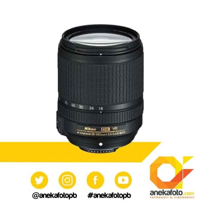 Nikon lensa af-s dx 18-140mm f/3.5-5.6 ed vr