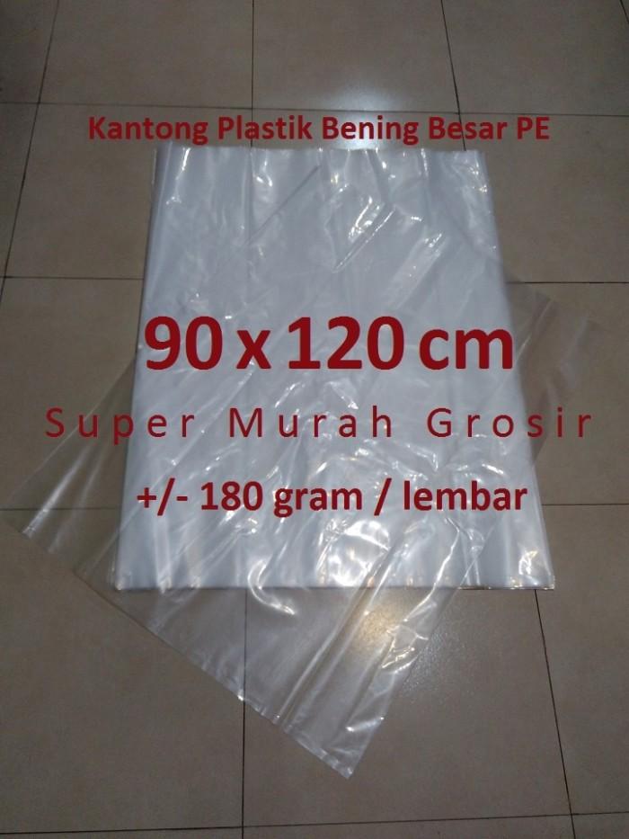 Jual Kantong Plastik Bening Besar 90x120 cm PE Tebal