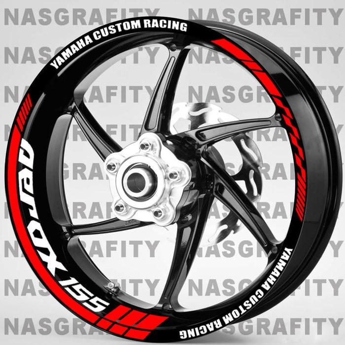 harga Rim Stiker Velg Yamaha Aerox 155 Custom Racing Tokopedia.com