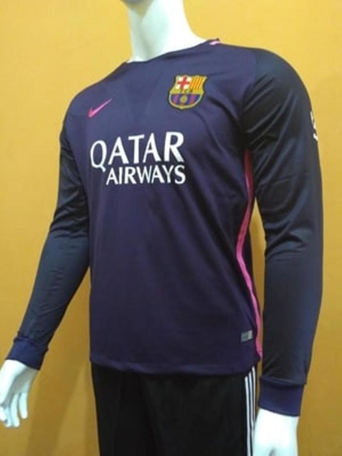 promo code 24537 12bee Jual Jersey Baju Bola Barca Barcelona Away LS Longsleeve 16& Berkualitas -  DKI Jakarta - Tepat Suplayer | Tokopedia