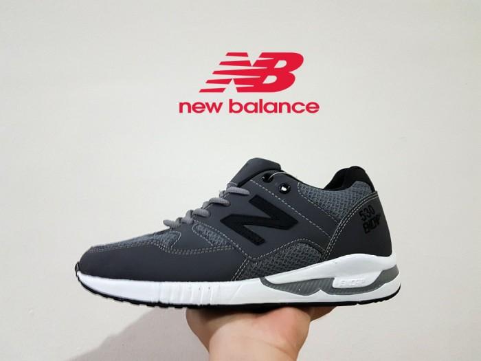Jual sepatu nb new balance 530 encap black grey cek harga di ... 508d3c210b
