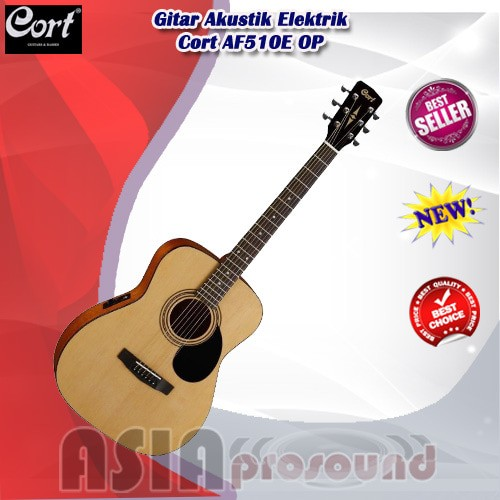 harga Gitar akustik elektrik cort af510e op / af 510e / af-510e / af510eop Tokopedia.com