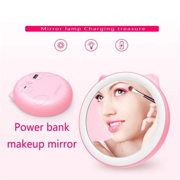 harga Powerbank makeup mirror lamp - lampu cermin make up Tokopedia.com