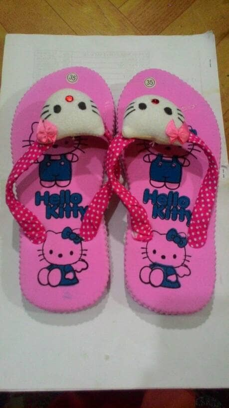 Sandal Jepit Anak Hello Kitty-Souvenir Jogja.