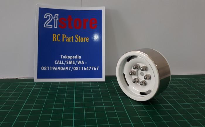 harga Velg alloy beadlock 1,9 inch putih model kaleng rc 1/10 4pcs Tokopedia.com