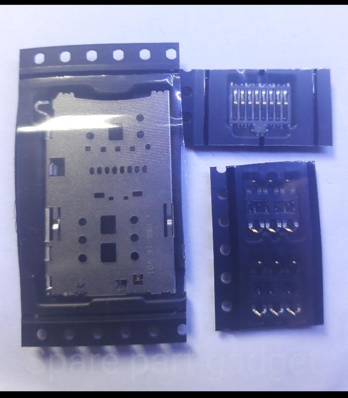 harga Konektor sim card oppo f1s oppo a59 sim card reader connector 1 set Tokopedia.com