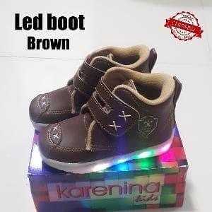 harga Laris sepatu anak laki laki boot led benang silang Tokopedia.com