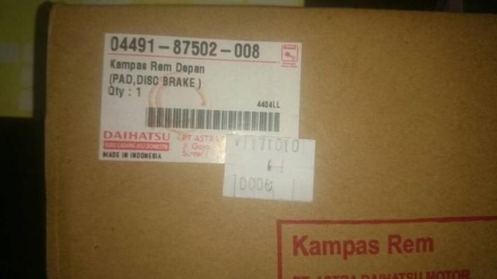 harga Kampas rem depan daihatsu classy original Tokopedia.com
