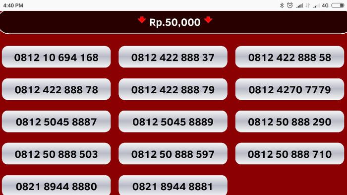 Telkomsel Simpati 4g Lte 082 13 55555 61 Kartu Perdana Nomor Cantik Source · nomor cantik