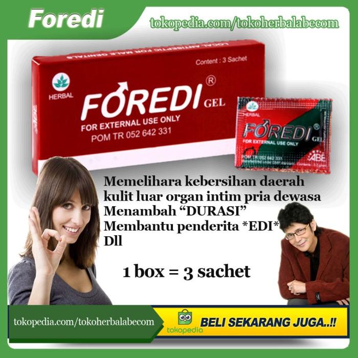 Foto Produk Foredi Gel - Herbal Oles Khusus Para Suami Untuk Menambah Durasi dari TokoHerbalABEcom