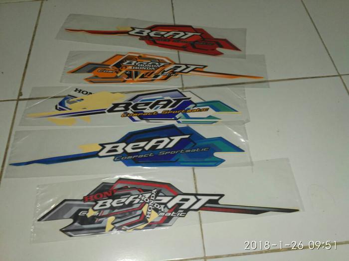 harga Beat 2008 motor honda stiker / lis / striping / stripping Tokopedia.com
