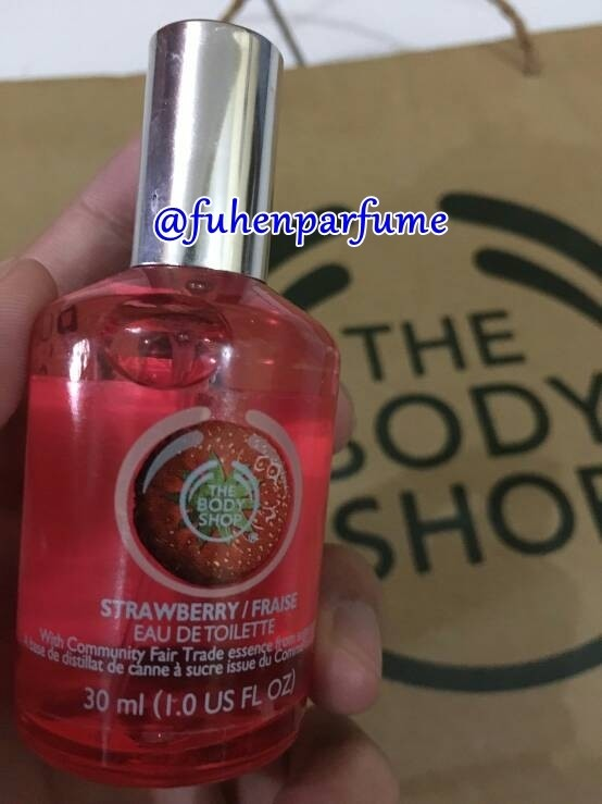 Parfum The Bodyshop Strawberry 30ml EDT Original Reject