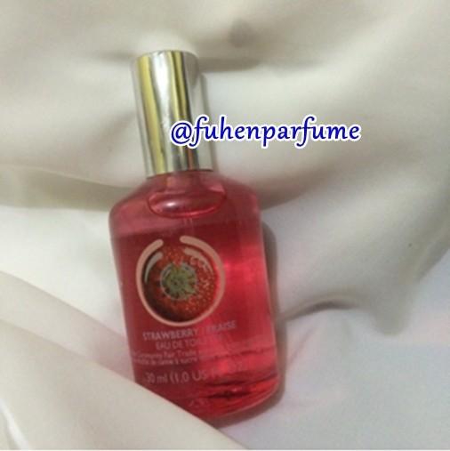 Parfum The Bodyshop Strawberry 30ml EDT Original Reject