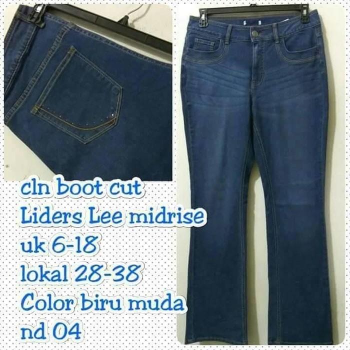 Celana MURAH Celana wanita jeans Lee riders cutbray bootcut big size