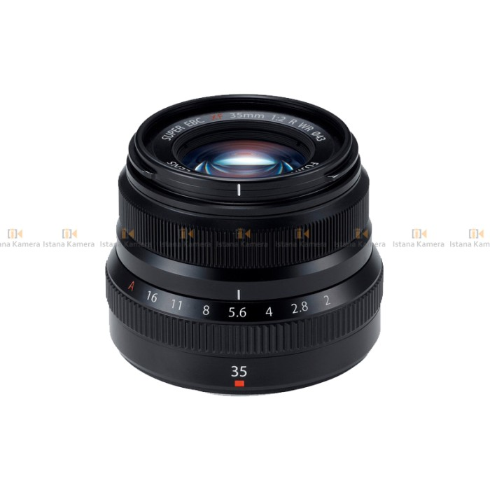 Fujifilm XF 35mm f/2 R WR Lens (Black) PT.Fujifilm Indonesia