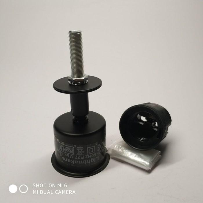 harga Fitting lampu meja e27 cafe restaurant kerajinan kap lampu bahan metal Tokopedia.com