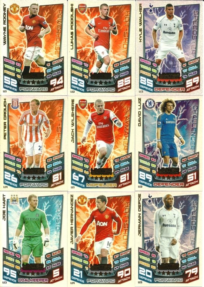 harga Kartu sepak bola match attax original season 2012-13 limited edition Tokopedia.com