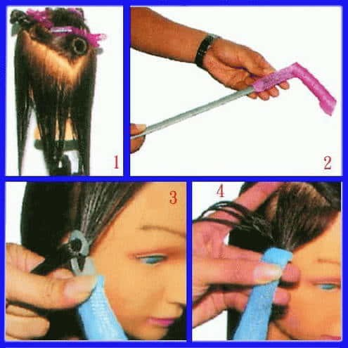 Magic Leverage isi 18 - Hair Curler - Alat Keriting Rambut Instant .