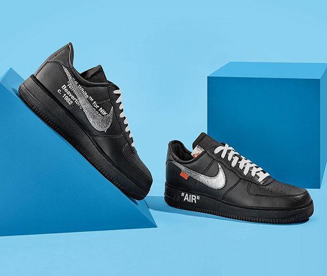 White x MoMA x Nike Air Force 1
