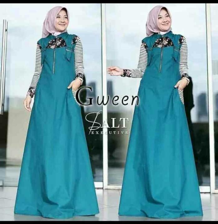 Jual REAL PICT!! Baju Muslim Wanita Mariana Dress Polka - Rega Store ... 978ba6b629