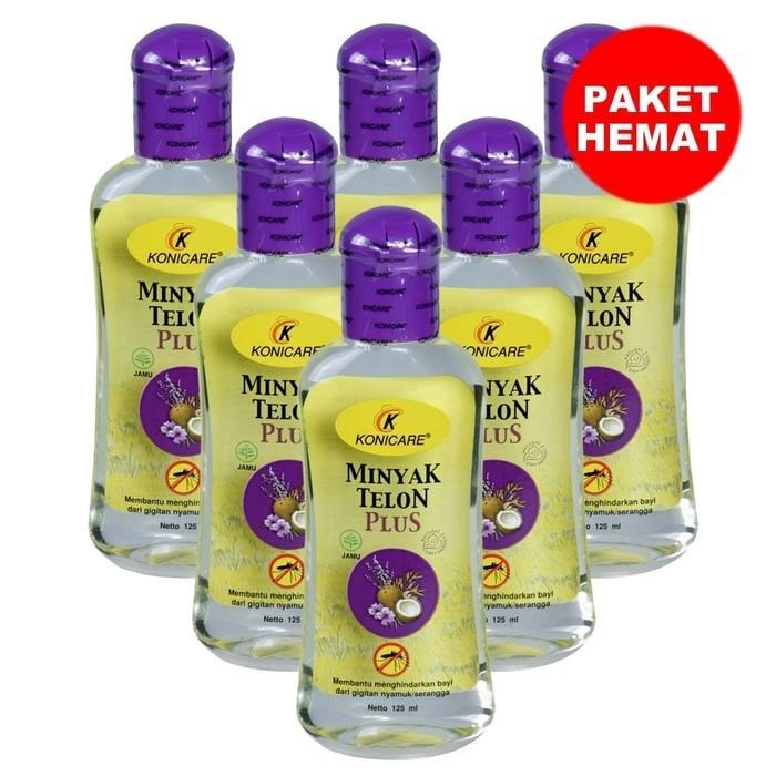 Konicare Minyak telon plus 125 ml 6 pcs