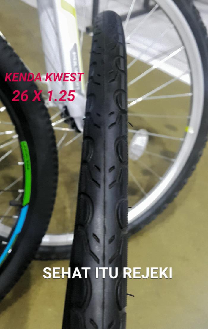 harga Ban luar sepeda kenda kwest 26 x 1.25   road bike tire - the slimmest Tokopedia.com