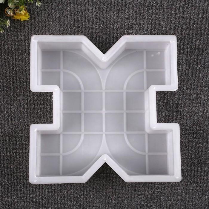 harga Cetakan paving blok atau cetakan semen paving block x type taman Tokopedia.com