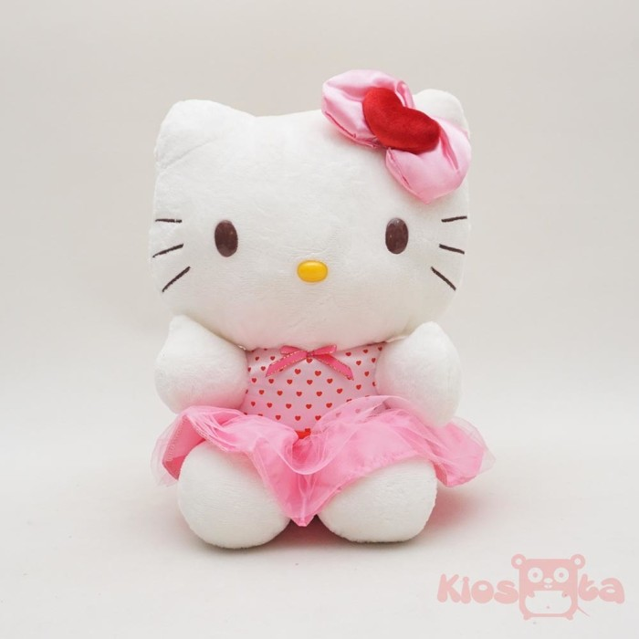 Jual Boneka Hello Kitty Gaun Pink Medium Original Sanrio Kiosqta