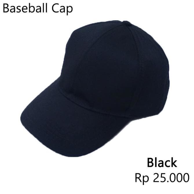 MURAH!!!! topi baseball pria dan wanita adidas warna hitam polos murah 83438111f2