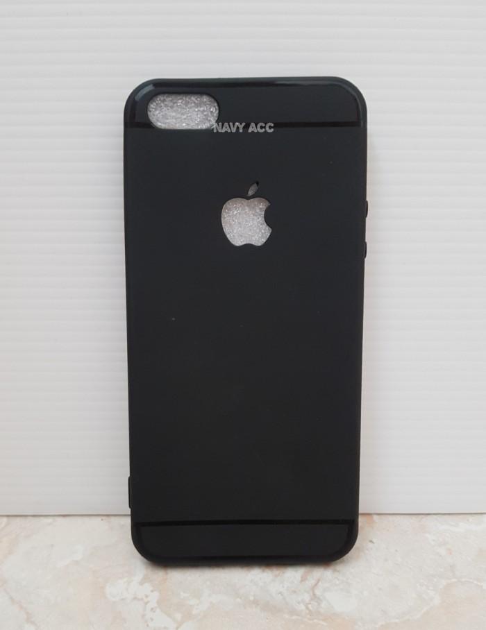 best loved 891b9 d0f75 Jual Case IPHONE 5 - Softcase SILICON THIN Black MATTE IPHONE 5 Logo Apple  - Jakarta Barat - Hoki Tiam | Tokopedia