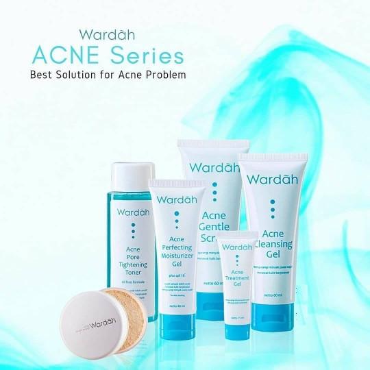 Harga 1 Paket Wardah Acne Series DaftarHarga.Pw