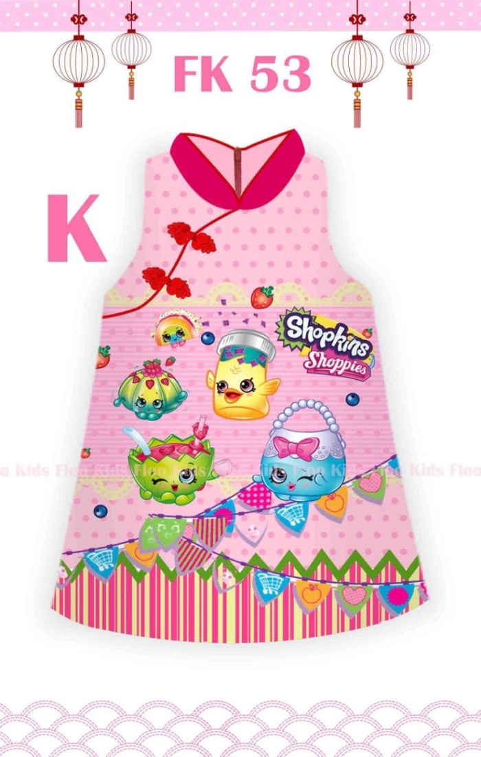 harga Big - Fk Shanghai Dress Shopkins-fk 53k Tokopedia.com