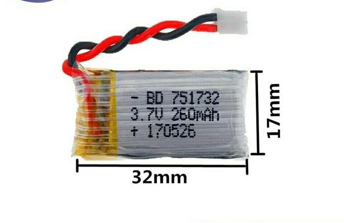 harga Battery 260mah 30c Eachine E011 Redpawz R010 Bisa H8 Mini Tokopedia.com