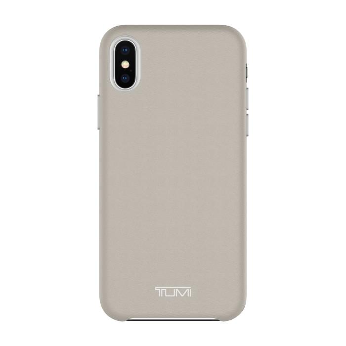 harga Tumi Iphone X Leather Wrap Case - Grey Tokopedia.com